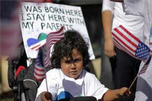Detained Immigrants in California Parents to Children with US Citizenship